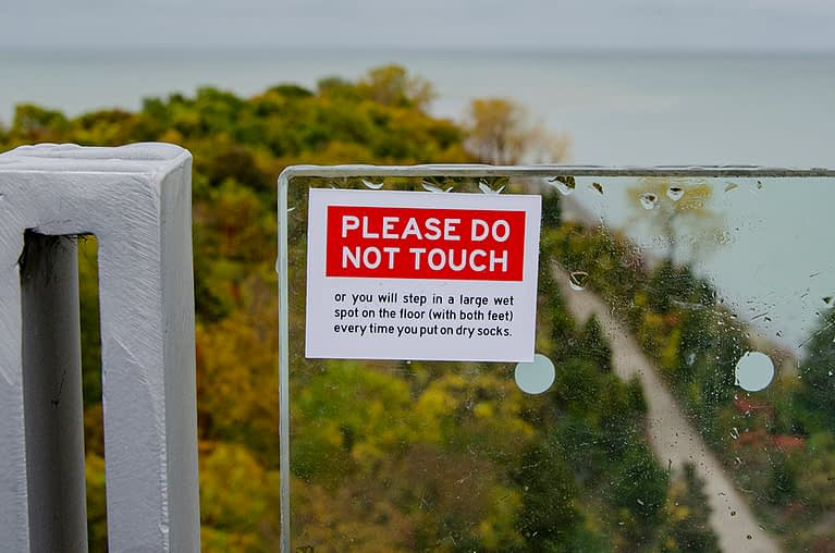 Please Do Not Touch…