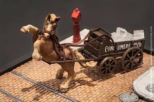 1950's New York Ice/Coal Cart
