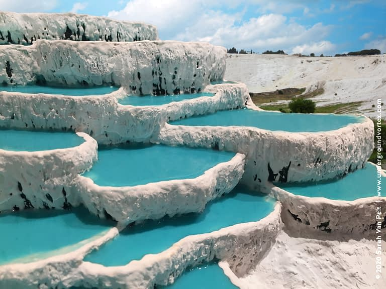 Pammukale Travertine Terraces (Turkey)