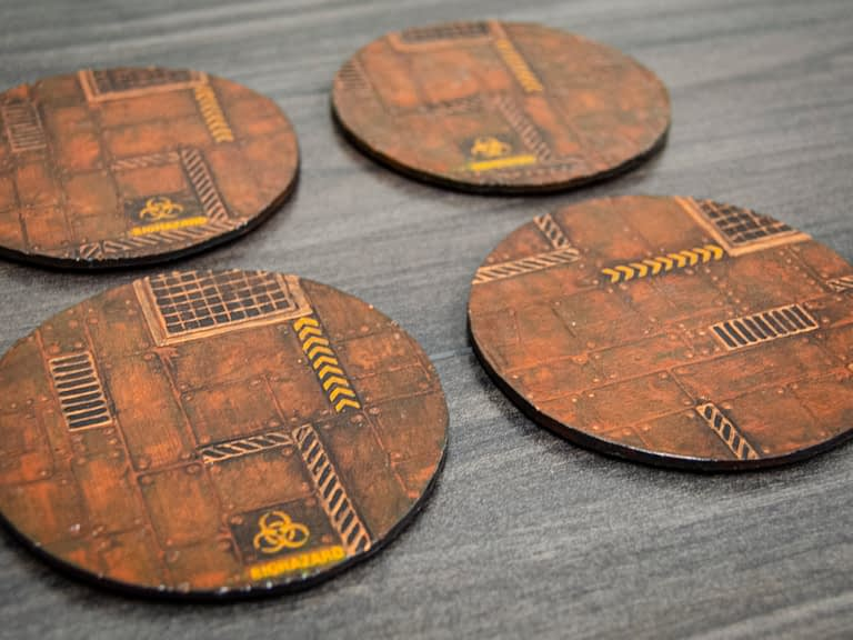 Industrial Coasters – Set 4