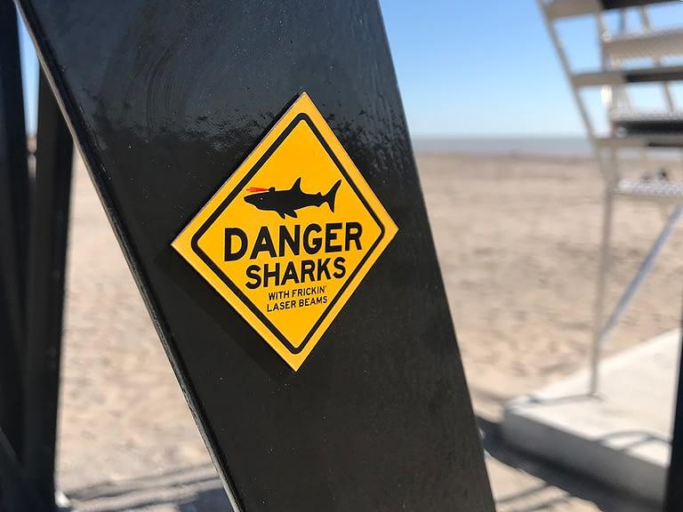 Danger Sharks with Frickin' Laser Beams