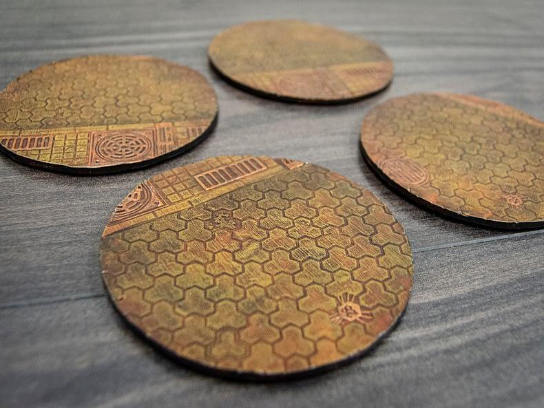 Industrial Coasters – Set 2