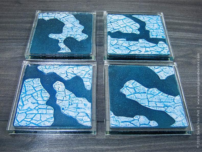 Icy Tundra Coasters – Set 2
