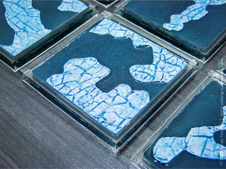 Icy Tundra Coasters – Set 1